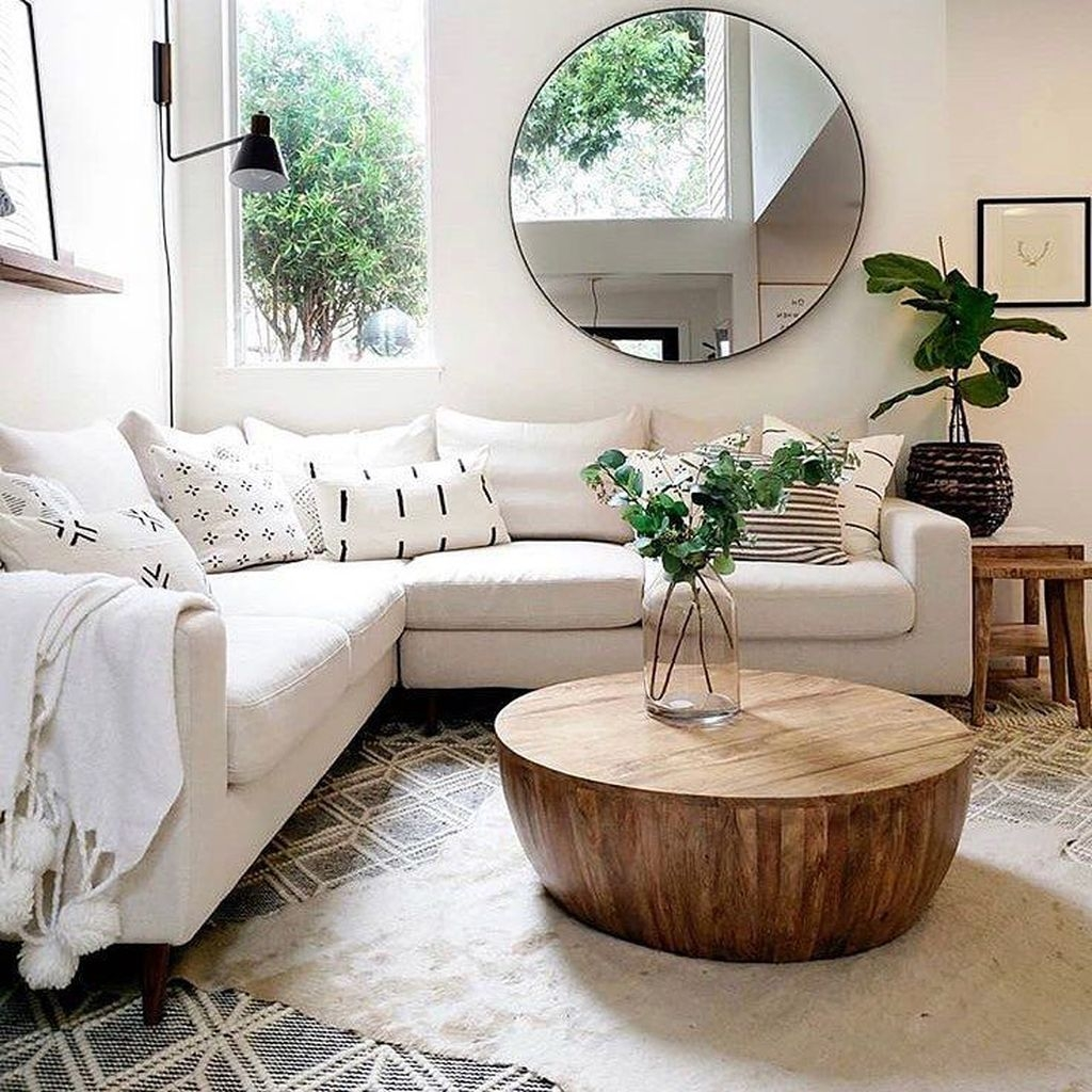 20+ Awesome Living Room Mirrors Design Ideas That Will ...