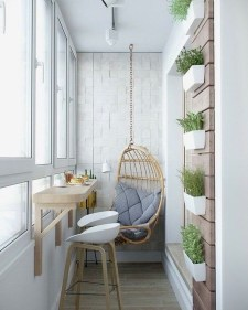 Brilliant Closed Balcony Design Ideas To Enjoy In All Weather Conditions02