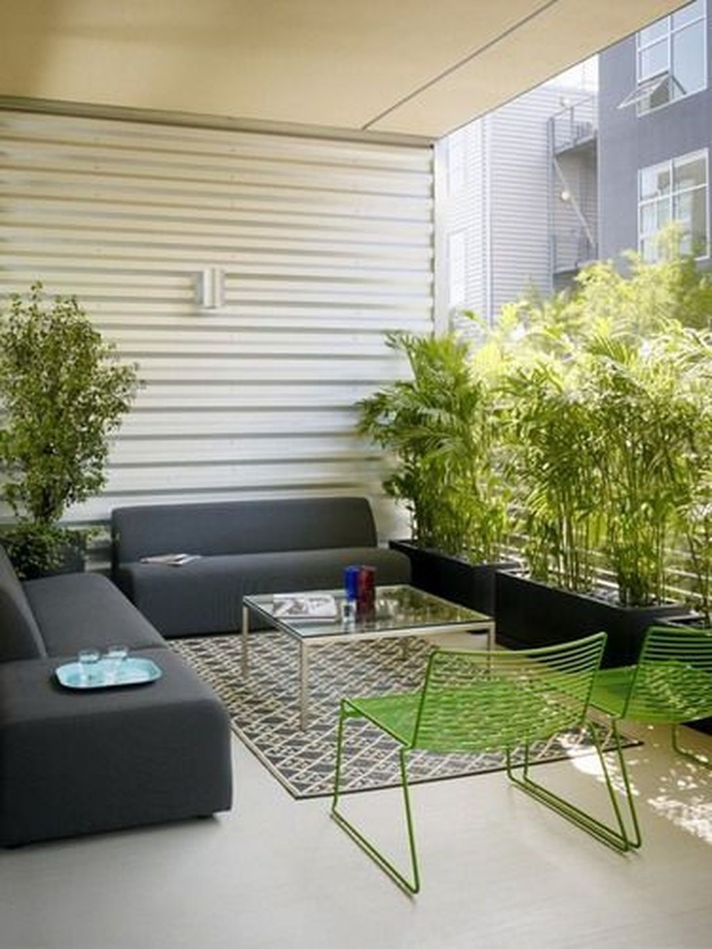 Brilliant Closed Balcony Design Ideas To Enjoy In All Weather Conditions16