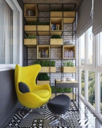 Brilliant Closed Balcony Design Ideas To Enjoy In All Weather Conditions40