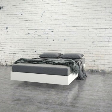 Casual Contemporary Floating Bed Design Ideas For You09