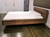 Casual Contemporary Floating Bed Design Ideas For You20