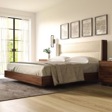 Casual Contemporary Floating Bed Design Ideas For You25