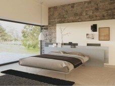 Casual Contemporary Floating Bed Design Ideas For You29
