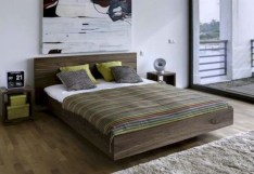 Casual Contemporary Floating Bed Design Ideas For You40