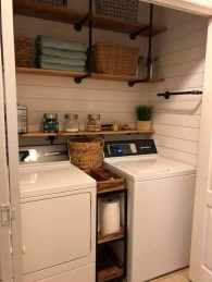 Charming Small Laundry Room Design Ideas For You05