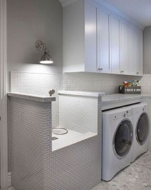 Charming Small Laundry Room Design Ideas For You12