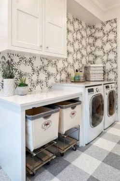 Charming Small Laundry Room Design Ideas For You26