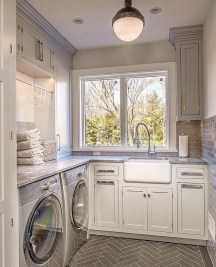 Charming Small Laundry Room Design Ideas For You29