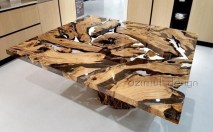 Classy Resin Wood Table Ideas For Your Furniture09