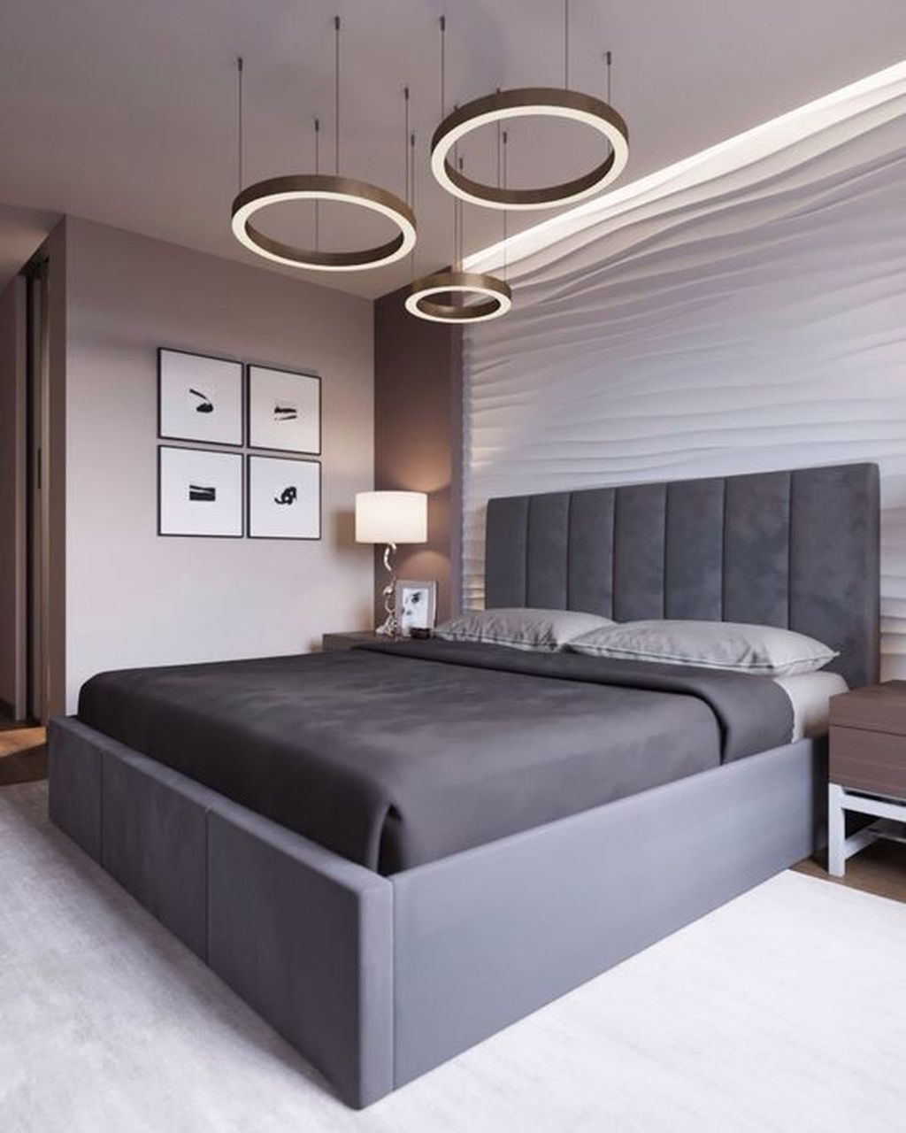 Cute Chandeliers Decoration Ideas For Your Bedroom12