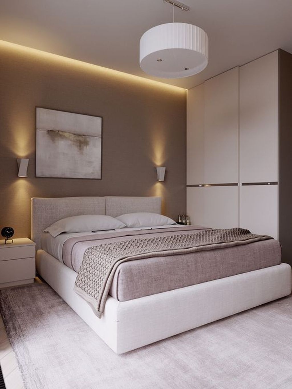 Cute Chandeliers Decoration Ideas For Your Bedroom27