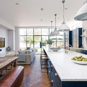 Extraordinary Big Open Kitchen Ideas For Your Home14