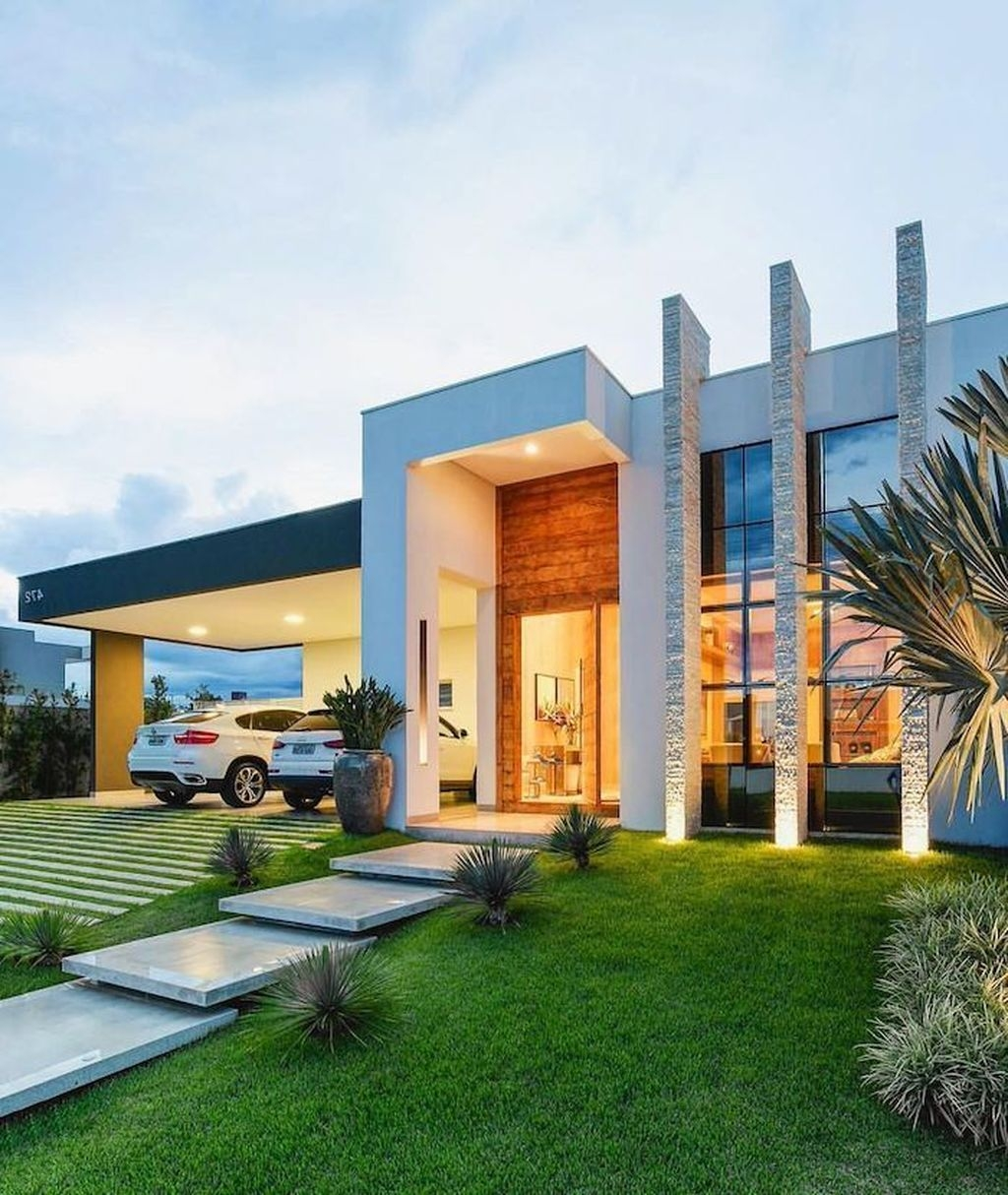 Fascinating Contemporary Houses Design Ideas To Try41
