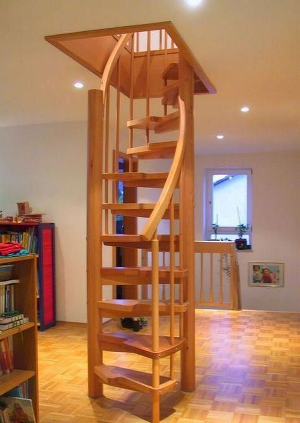 Incredible Stairs Design Ideas For The Attic To Try09