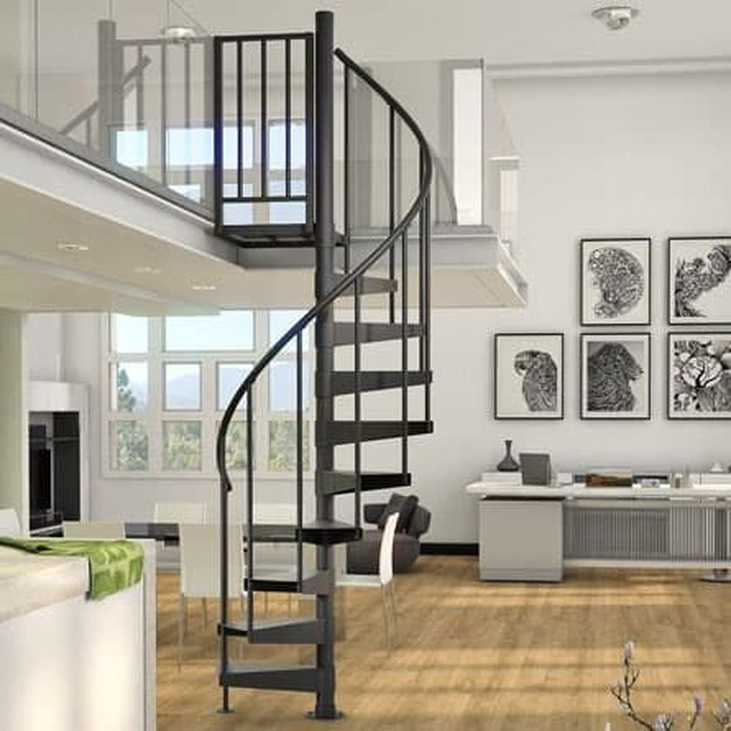 Incredible Stairs Design Ideas For The Attic To Try11