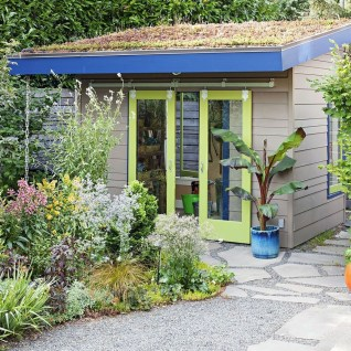 Incredible Studio Shed Designs Ideas For Your Backyard03