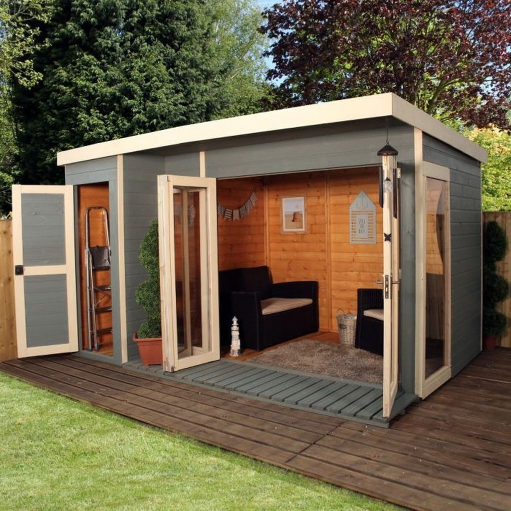 Incredible Studio Shed Designs Ideas For Your Backyard09