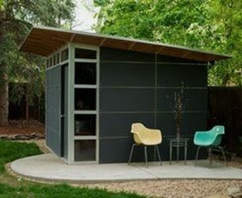 Incredible Studio Shed Designs Ideas For Your Backyard12