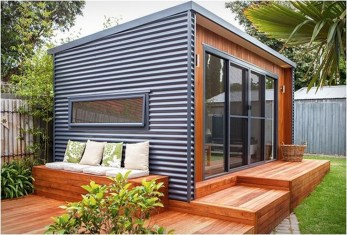 Incredible Studio Shed Designs Ideas For Your Backyard22