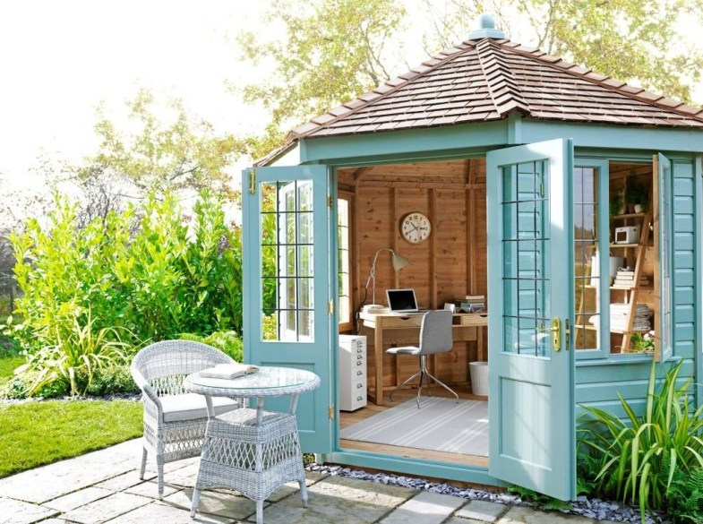 Incredible Studio Shed Designs Ideas For Your Backyard23