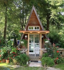 Incredible Studio Shed Designs Ideas For Your Backyard30
