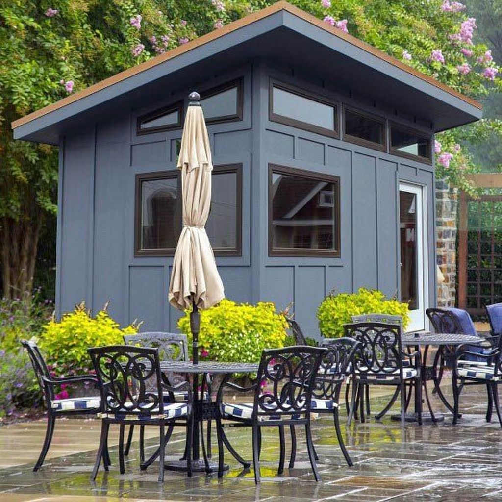 Incredible Studio Shed Designs Ideas For Your Backyard36