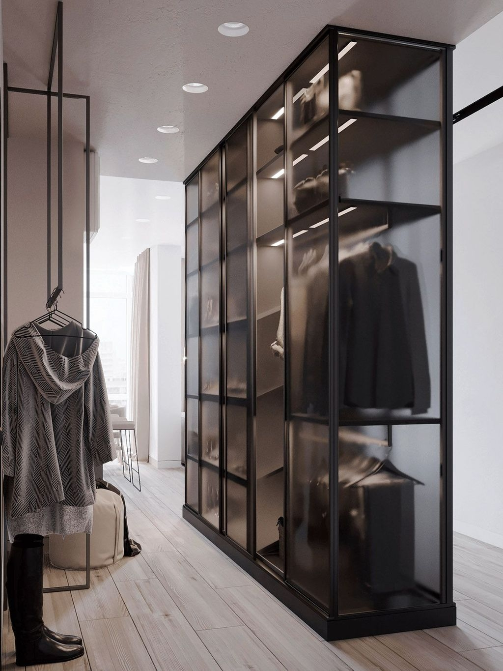 Spectacular Wardrobe Designs Ideas To Store Your Clothes In31