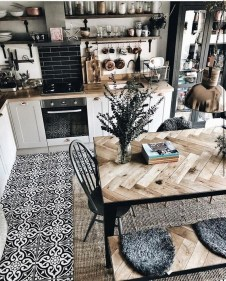 Unordinary Dining Room Design Ideas With Bohemian Style10