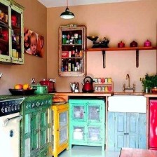 Unusual Bohemian Kitchen Decorations Ideas To Try12