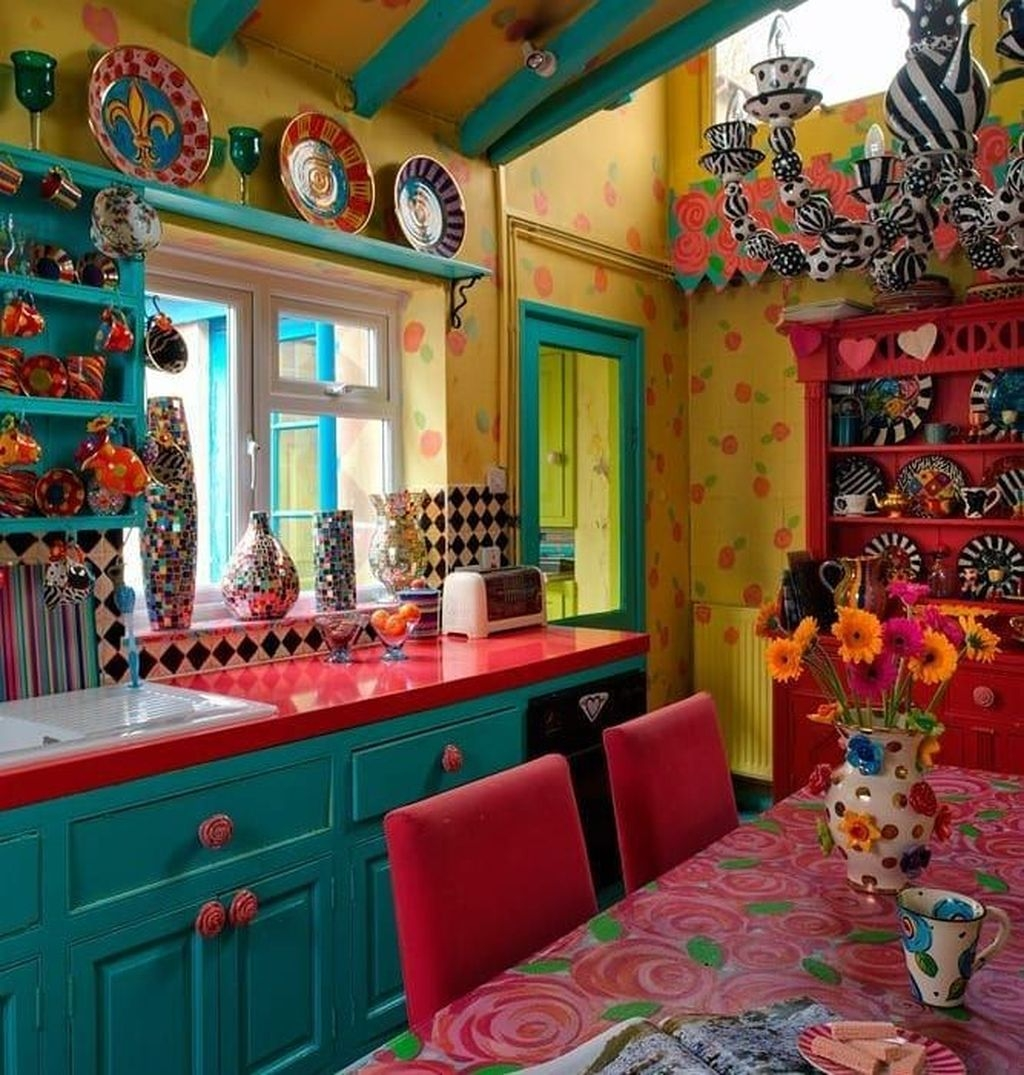 Unusual Bohemian Kitchen Decorations Ideas To Try27