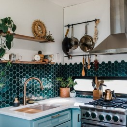 Unusual Bohemian Kitchen Decorations Ideas To Try35