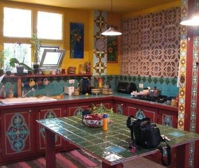 Unusual Bohemian Kitchen Decorations Ideas To Try42