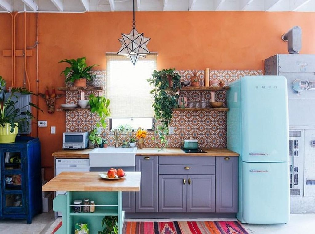 Unusual Bohemian Kitchen Decorations Ideas To Try45