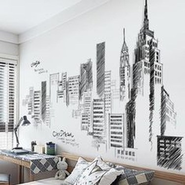 Vintage Bedroom Wall Decals Design Ideas To Try03