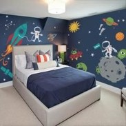 Vintage Bedroom Wall Decals Design Ideas To Try11