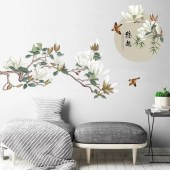 Vintage Bedroom Wall Decals Design Ideas To Try21