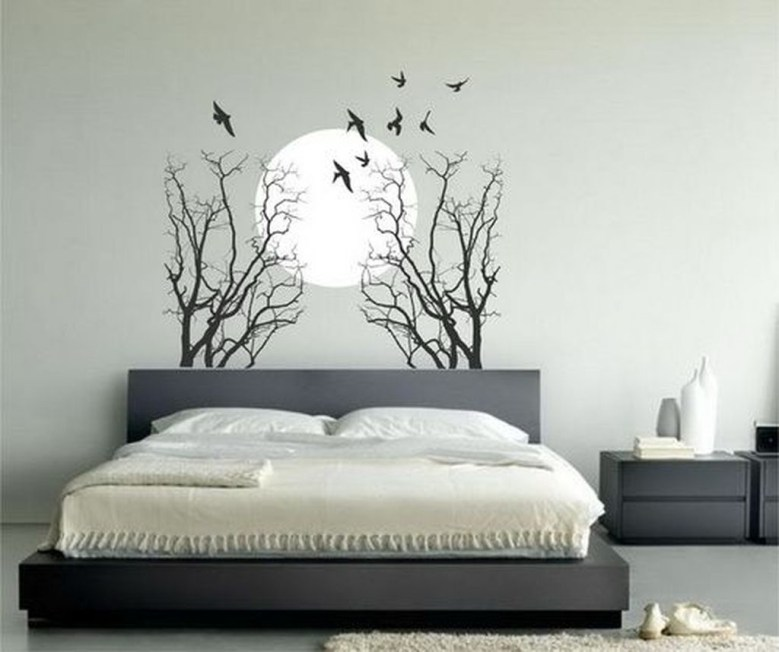 Vintage Bedroom Wall Decals Design Ideas To Try22