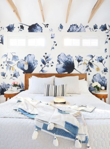 Vintage Bedroom Wall Decals Design Ideas To Try46