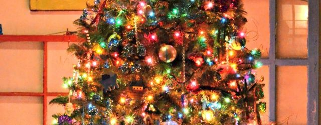 The Best Colored Lights Christmas Tree Ideas
