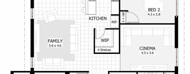 Lovely 4 Bedroom House Plans One Story Ideas