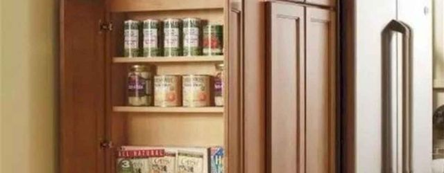 Lovely Kitchen Storage Cabinets With Doors And Shelves Ideas