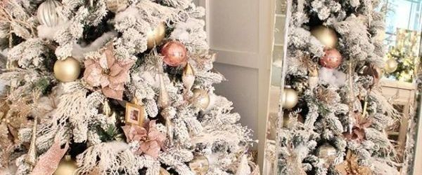 Fabulous Rose Gold Christmas Decorations Ideas
