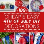 Awesome DIY Fourth Of July Decorations Ideas