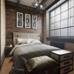 Gorgeous Industrial Style Bedroom Ideas