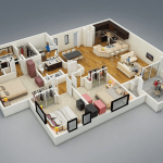 Awesome Three Bedroom House Ideas