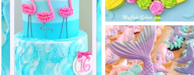 The Best Summer Cake Decorating Ideas