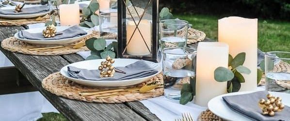 Gorgeous Outdoor Table Decoration For Summer Ideas
