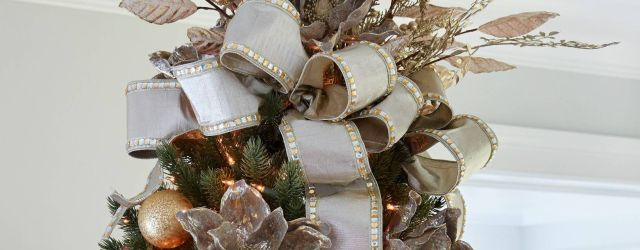 Stunning Unique Christmas Tree Toppers Ideas