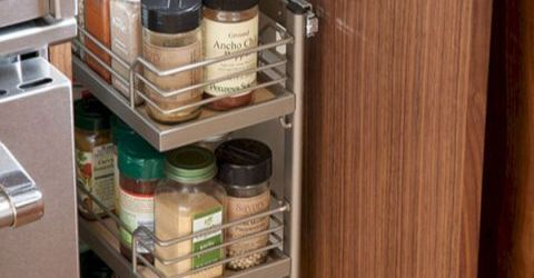 Awesome Kitchen Cabinet Organizer Shelf Ideas